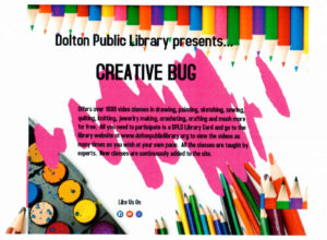 Creative Bug arts and crafts